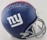 Michael Strahan Signed Giants Full-Size Helmet (JSA COA) at PristineAuction.com