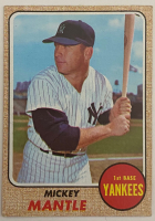 Mickey Mantle 1968 Topps #280 at PristineAuction.com