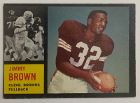 Jim Brown 1962 Topps #28 at PristineAuction.com