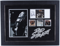Rod Stewart Signed 19.5x25.5 Custom Framed Cut Display (JSA COA) at PristineAuction.com