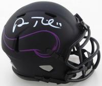 Adam Thielen Signed Vikings Eclipse Alternate Speed Mini Helmet (Beckett COA) at PristineAuction.com