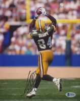 Sterling Sharpe Signed Packers 8x10 Photo (Beckett COA) at PristineAuction.com
