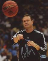 Bill Self Signed Kansas Jayhawks 8x10 Photo (Beckett COA) at PristineAuction.com