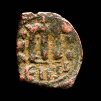 Byzantine Empire - Emperor Constans II AD 641-668 AE Follis Ancient Coin at PristineAuction.com