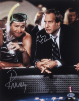 """Chevy Chase & Randy Quaid Signed """"Vegas Vacation"""" 11x14 Photo (Beckett COA & Chase Hologram) at PristineAuction.com"""
