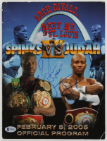 "Leon Spinks vs. Zab Judah Signed 2005 Official Program Inscribed ""Super"" (Beckett COA) at PristineAuction.com"