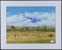 "Brooks Robinson Signed 13x16 Custom Matted Lithograph Display Inscribed ""HOF 83"" (JSA COA) at PristineAuction.com"