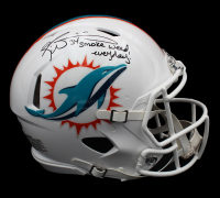 "Ricky Williams Signed Dolphins Full-Size Authentic On-Field Speed Helmet Inscribed ""Smoke Weed Everyday!"" (Radtke COA) at PristineAuction.com"