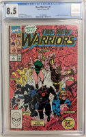 "1990 ""New Warriors"" Issue #1 Marvel Comic Book (CGC 8.5) at PristineAuction.com"