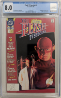 "1991 ""The Flash TV Special"" Issue #1 DC Comic Book (CGC 8.0) at PristineAuction.com"