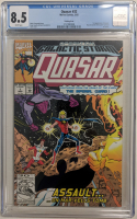 "1992 ""Quasar"" Issue #32 Marvel Comic Book (CGC 8.5) at PristineAuction.com"