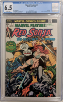 "1975 ""Marvel Feature"" Issue #1 Marvel Comic Book (CGC 6.5) at PristineAuction.com"