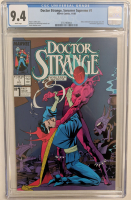 "1988 ""Doctor Strange Sorcerer Supreme"" Issue #1 Marvel Comic Book (CGC 9.4) at PristineAuction.com"