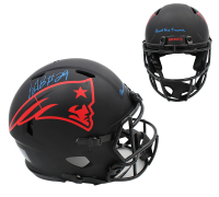 "Lagarrette Blount Signed Patriots Full-Size Authentic On-Field Eclipse Alternate Speed Helmet Inscribed ""Blount Force Trauma"" (Radtke COA) at PristineAuction.com"