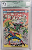 "1975 ""Amazing Spider-Man"" Issue #141 Marvel Comic Book (CGC Qualified 7.5) at PristineAuction.com"