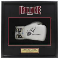 Mike Tyson Signed 18x19x5 Custom Framed Boxing Glove Shadowbox Display (JSA COA & Fiterman Sports Hologram) at PristineAuction.com