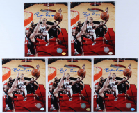 Lot of (5) Brandon Roy Signed Trail Blazers 8x10 Photos (Hollywood Collectibles Hologram) at PristineAuction.com
