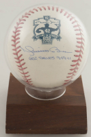 "Mariano Rivera Signed OML Baseball with Display Case Inscribed ""602 Saves 9-19-11"" (JSA Hologram & Steiner Hologram) at PristineAuction.com"