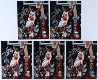 Lot of (5) Tyrus Thomas Signed Bulls 8x10 Photos (Hollywood Collectibles Hologram) at PristineAuction.com