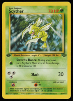Scyther 1999 Pokemon Jungle 1st Edition #26 at PristineAuction.com
