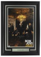 Jon Bon Jovi Signed 13x19 Custom Framed Bon Jovi Photo Display (Beckett COA) at PristineAuction.com
