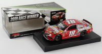 Kyle Busch Signed NASCAR #18 Skittles 2019 Camry - ISM Raceway Win - 1:24 Premium Action Diecast Car (PA COA) (See Description) at PristineAuction.com