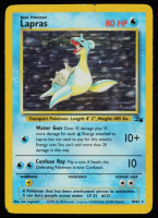 Lapras 1999 Pokemon Fossil Unlimited #10 HOLO at PristineAuction.com