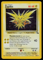 Zapdos 1999 Pokemon Fossil Unlimited #15 HOLO at PristineAuction.com