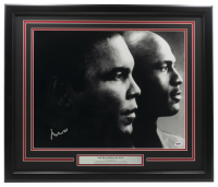 Muhammad Ali Signed 16x20 Custom Framed Photo Display (PSA COA) at PristineAuction.com