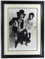 "Jimi Hendrix ""The Jimi Hendrix Experience"" LE 17x22 Custom Framed Giclee on Canvas at PristineAuction.com"