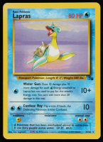 Lapras 1999 Pokemon Fossil Unlimited #25 at PristineAuction.com
