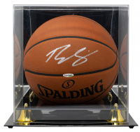 Ben Simmons Signed Official NBA Game Ball with Display Case (UDA COA) at PristineAuction.com