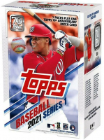 2021 Topps Baseball Series 1 Blaster Box with (7) Packs at PristineAuction.com
