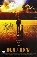 "Rudy Ruettiger Signed ""Rudy"" 11x17 Movie Poster Print (JSA COA) at PristineAuction.com"