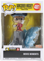 "Mickey Mouse - ""Fantasia"" - Sorcerer Mickey #481 Funko Pop! Movie Moments Vinyl Figure at PristineAuction.com"