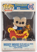 Mickey Mouse - Disneyland: 65th Anniversary - Mickey on the Casey Jr. Circus Train Attraction #03 Funko Pop! Vinyl Figure at PristineAuction.com