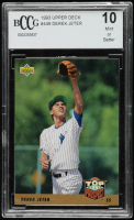 Derek Jeter 1993 Upper Deck #449 RC (BCCG 10) at PristineAuction.com