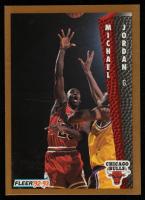 Michael Jordan 1992-93 Fleer #32 at PristineAuction.com