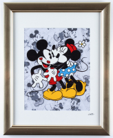 "Walt Disney's ""Mickey Mouse"" 13x16 Custom Framed Hand-Painted Animation Serigraph Display at PristineAuction.com"