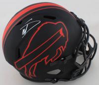 Stefon Diggs Signed Bills Full-Size Eclipse Alternate Speed Helmet (Beckett COA) at PristineAuction.com