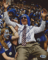"Dick Vitale Signed 8x10 Photo Inscribed ""HOF 08"" (Beckett COA) at PristineAuction.com"
