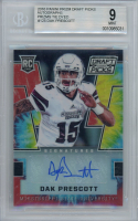 Dak Prescott 2016 Panini Prizm Draft Picks Autographs Prizms Tie Dyed #125 RC (BGS 9) at PristineAuction.com