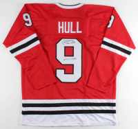 "Bobby Hull Signed Jersey Inscribed ""HOF 1983"" (JSA COA) at PristineAuction.com"
