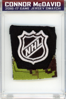 CONNOR MCDAVID 2016-17 EDMONTON OILERS GAME-WORN JERSEY MYSTERY SWATCH BOX! at PristineAuction.com