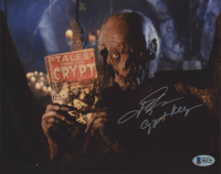 """John Kassir Signed """"Tales From the Crypt"""" 8x10 Photo Inscribed """"Crypt Keeper"""" (Beckett COA) at PristineAuction.com"""