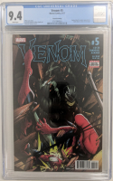 "2017 ""Venom"" Issue #5 Marvel Comic Book (CGC 9.4) at PristineAuction.com"