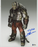 "Steve Blum Signed ""Batman: Arkham City"" 8x10 Photo Inscribed ""Tick Tock"" (Beckett COA) at PristineAuction.com"