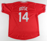"Pete Rose Signed Jersey Inscribed ""4256"" (Fiterman Sports Hologram) at PristineAuction.com"