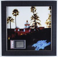 "Don Henley Signed The Eagles ""Hotel California"" 19.5x19.5 Custom Framed Cut Display (PSA Encapsulated) at PristineAuction.com"