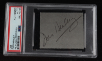 """Don Henley Signed The Eagles """"Hotel California"""" 19.5x19.5 Custom Framed Cut Display (PSA Encapsulated) at PristineAuction.com"""